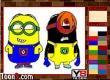 Tô màu Minions Kids Coloring