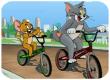 Chơi Game Tom và Jerry đua xe đạp online