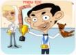 Tiệm cắt tóc Mr Bean