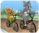 Tom & Jerry đua xe đạp